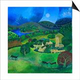 Devonshire Village, 2008 Art by Lisa Graa Jensen