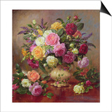 Roses from a Victorian Garden Prints by Albert Williams