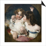 Calmady Children Posters af Thomas Lawrence