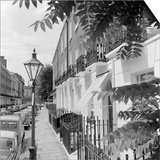 Looking Along the Pavement of a Residential Street Prints by John Gay