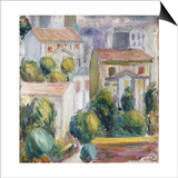 House at Cagnes Prints by Pierre-Auguste Renoir