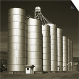 Silver Grain Elevators Prints by Tom Marks