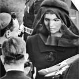 Jacqueline Kennedy at President John Kennedy's Funeral Posters