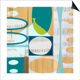 Ocean and Sand 3 Prints by Mary Calkins