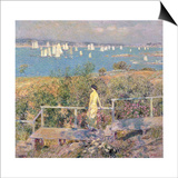 Yachts, Gloucester, 1889 Prints by Childe Hassam