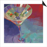 Martini in Plum Prints by Patti Mollica