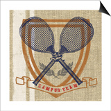 Campus Tennis Team Art by Sam Appleman