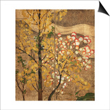 Autumn Tree Posters by  Japanese School