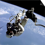 First US Space Walk Performed by Astronaut Edward White, June 3, 1965 Art
