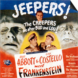 Bud Abbott & Lou Costello Meet Frankenstein, 1948 Prints