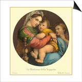 Madonna of the Seggiola, Raphael, Florence Posters