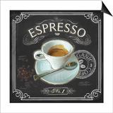 Coffee House Espresso Prints by Chad Barrett