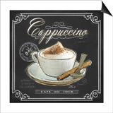 Coffee House Cappuccino Prints by Chad Barrett