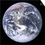 Earth View from Apollo 17 Moon Mission Prints