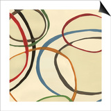 13 Thursday Square II Circle Abstract Prints by Jeni Lee