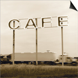 Cafe Truckstop Print by TM Photography
