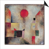 Red Balloon, 1922 Prints by Paul Klee