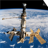 Russian Space Station Mir Print