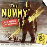 The Mummy, Christopher Lee, 1959 Posters