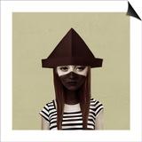 Ceci N'Est Pas Un Chapeau Posters by Ruben Ireland