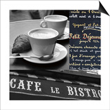 French Café 1 Art by Cameron Duprais