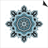Mandala: Indian Decorative Pattern Prints by  Katyau