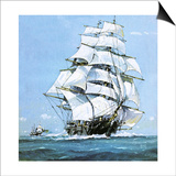 The Cutty Sark Print by John S. Smith