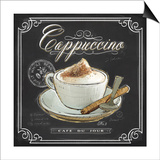 Coffee House Cappuccino Poster by Chad Barrett