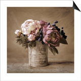 Estate Peonies Prints by Cristin Atria