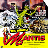 The Deadly Mantis, 1957 Posters