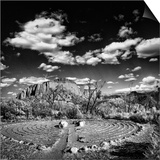 Labyrinth, New Mexico Prints by Dee Smart