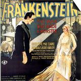 Frankenstein, Boris Karloff, Mae Clarke, 1931 Art