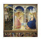 The Annunciation Art by  Fra Angelico