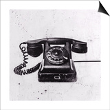 Black Phone Prints by JB Hall