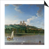 Lincoln from the Brayford Pool Prints by Joseph Baker