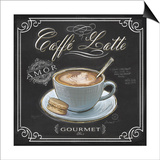 Coffee House Caffe Latte Poster by Chad Barrett