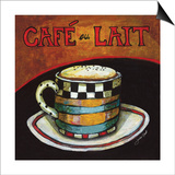 Cafe Au Lait Prints by Jennifer Garant
