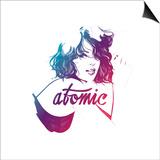 Atomic Posters av Manuel Rebollo