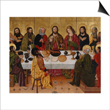 The Last Supper Poster by  The Perea Master