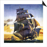 Cutty Sark Print by  English School