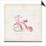 Pink Tricycle Posters by Lauren Hamilton