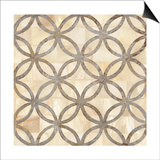 Natural Moroccan Tile 4 Prints by Hope Smith