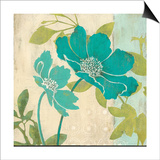 Modern Windflower Print by Stefania Ferri