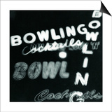 Bowling in Lights Prints by Dan Zamudio