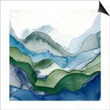 Emerald Quartz A Prints by  GI ArtLab
