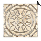 Natural Moroccan Tile 3 Poster by Hope Smith