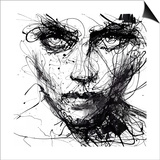 In Trouble, She Will Prints by Agnes Cecile