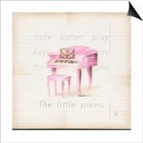 Little Piano Art by Lauren Hamilton
