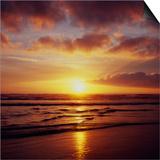 Western Sunset 3 Print by Paul Edmondson