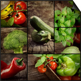 Fresh Vegetables Prints by  mythja